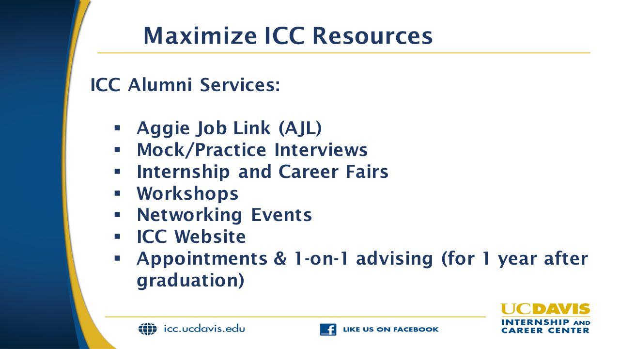 Maximize ICC Resources