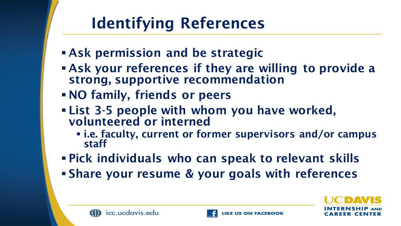 Identifying References