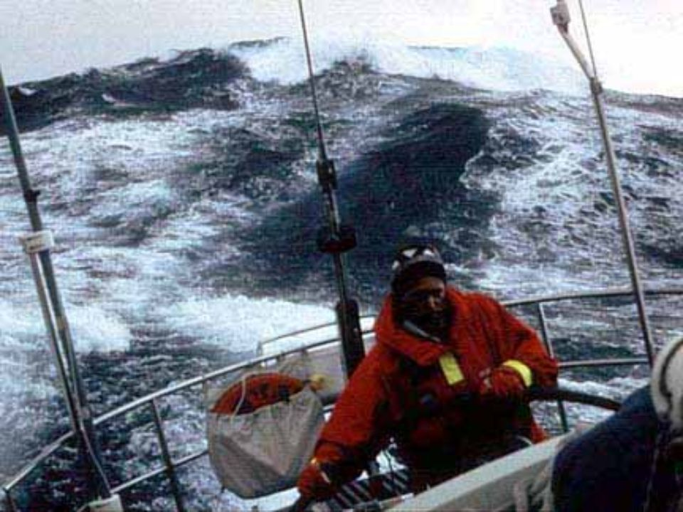 Sail Around the World Alone race, in the screaming sixties