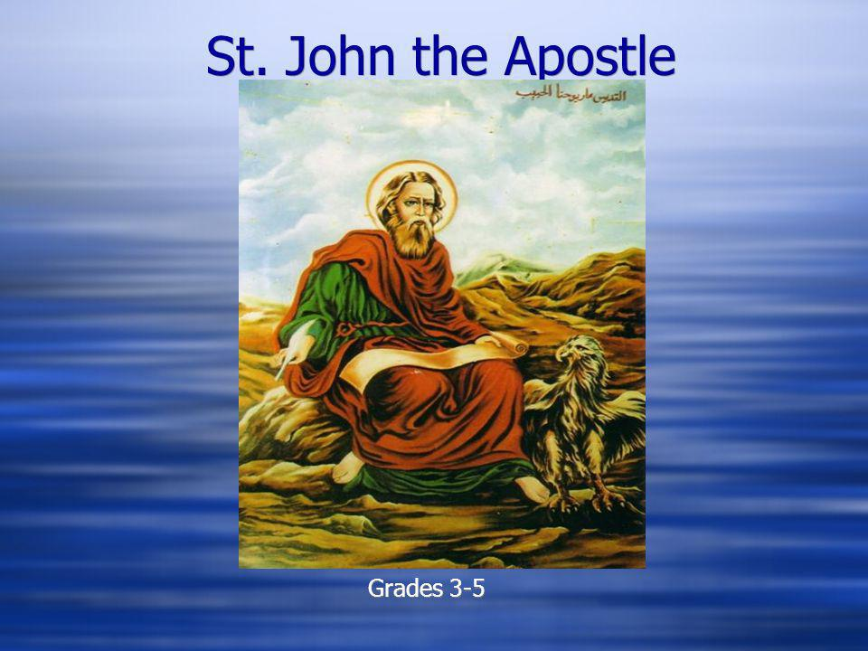 St. John the Apostle Grades 3-5