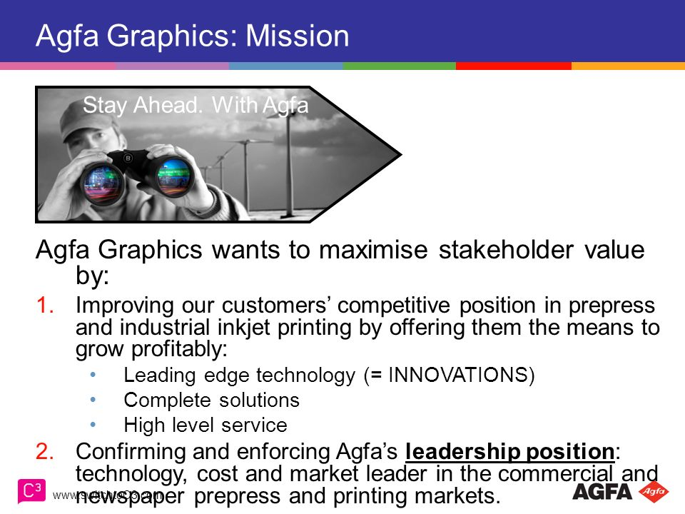 Agfa Graphics: Mission