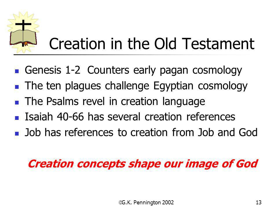 Creation in the Old Testament
