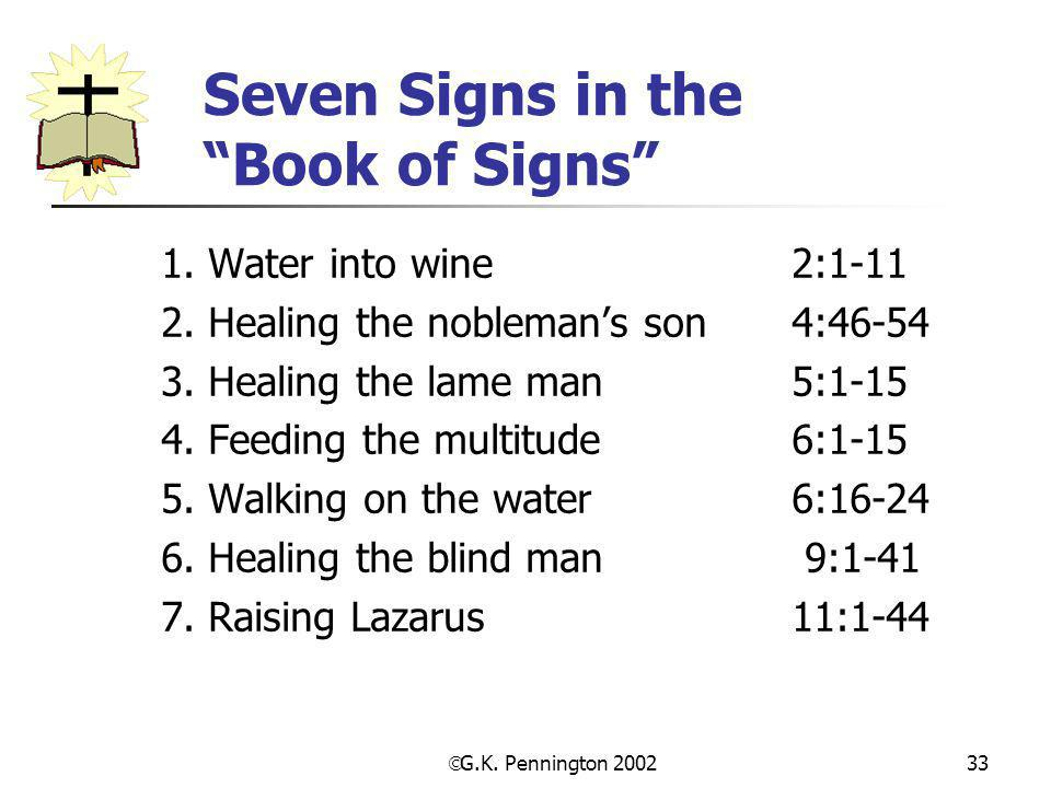 Seven Signs in the Book of Signs