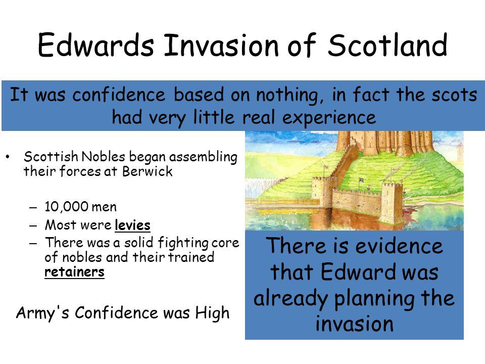 Edwards Invasion of Scotland