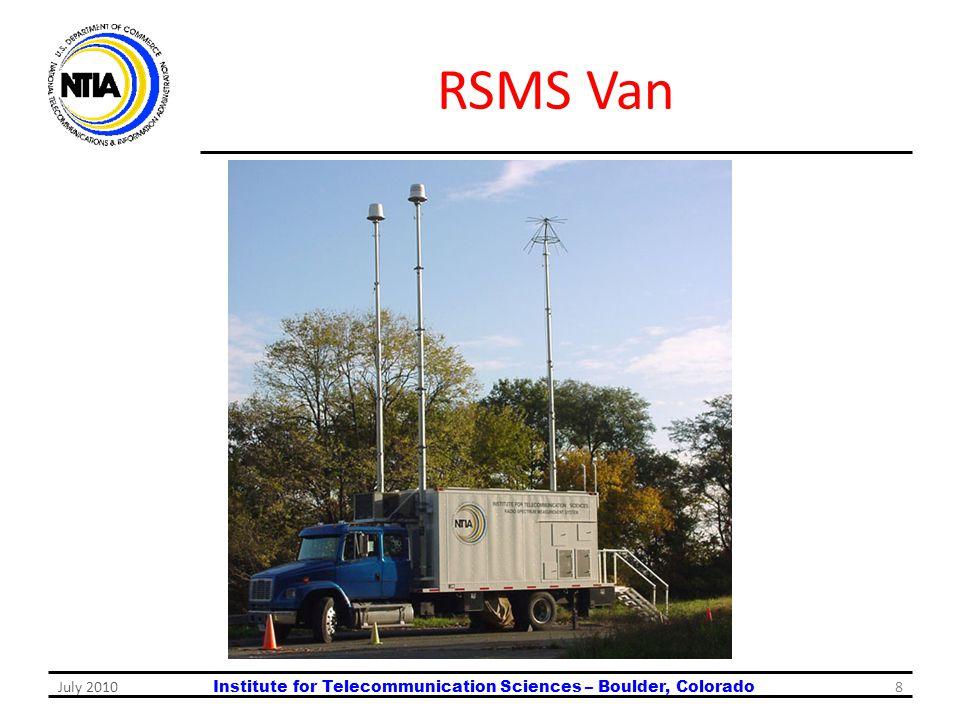 RSMS Van July 2010