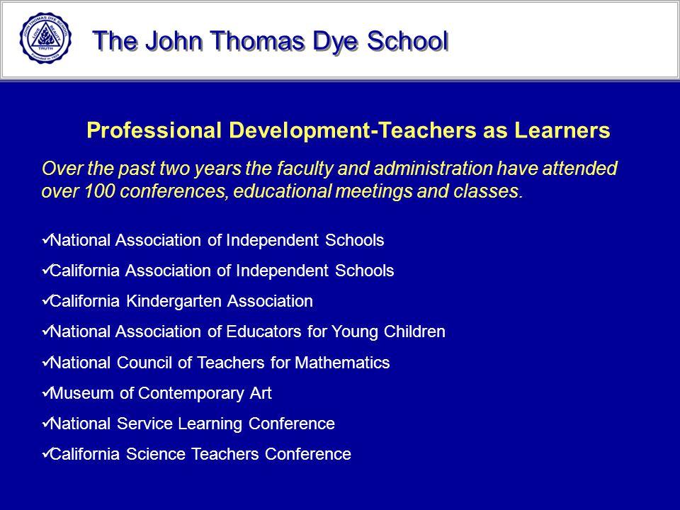 Professional Development-Teachers as Learners