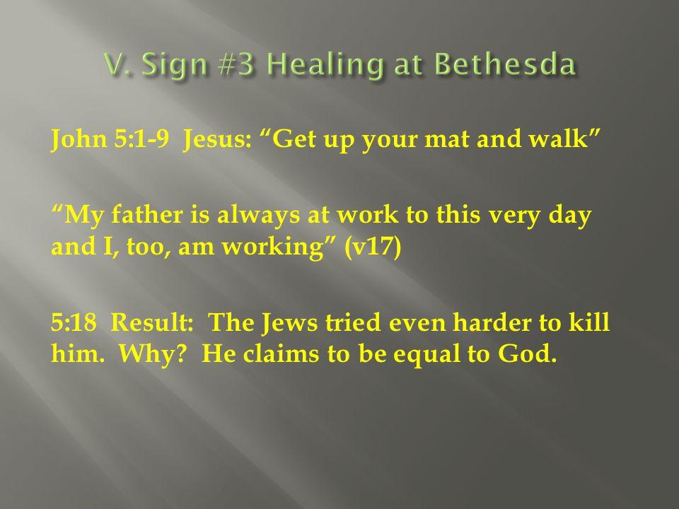 V. Sign #3 Healing at Bethesda