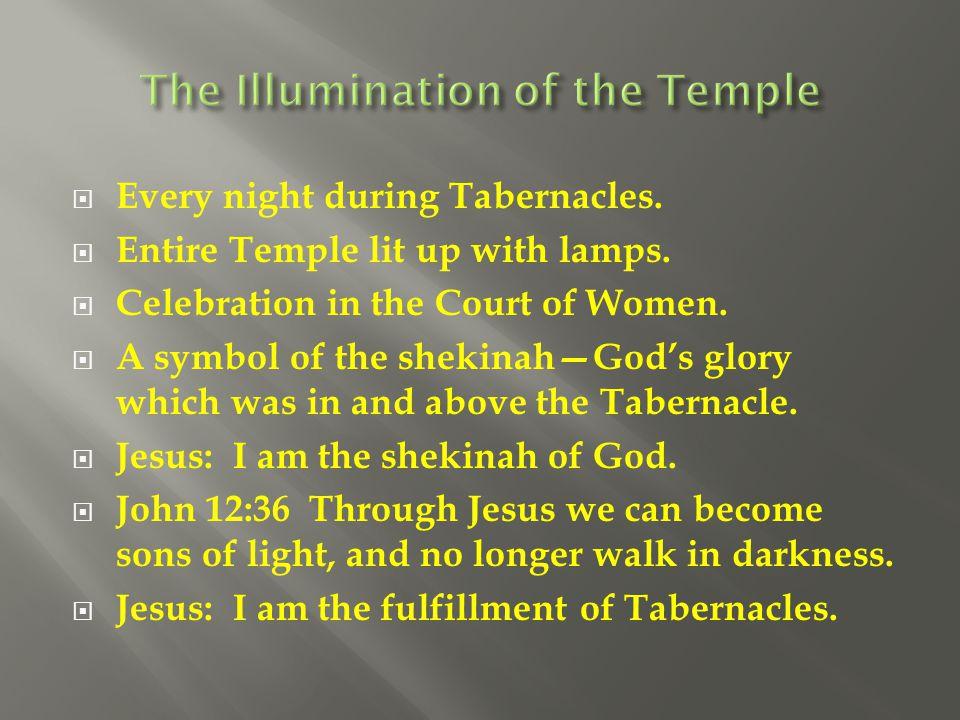 The Illumination of the Temple