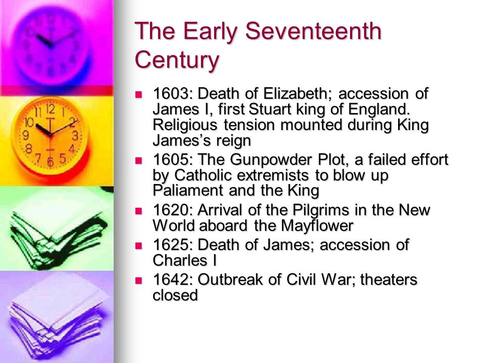 The Early Seventeenth Century