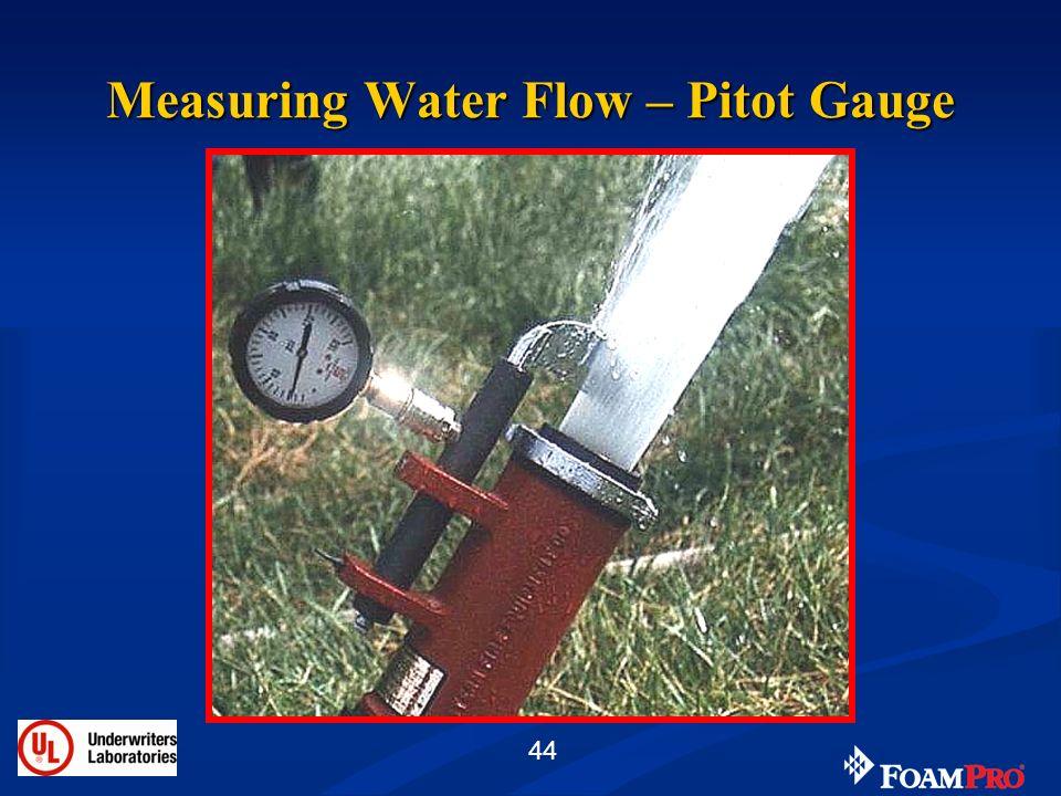 Measuring Water Flow – Pitot Gauge