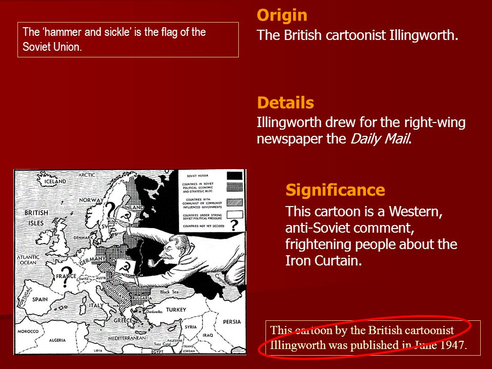 Origin Details Significance The British cartoonist Illingworth.