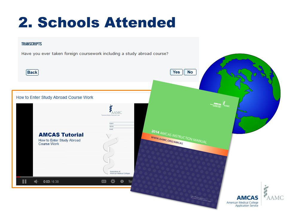 amcas entering coursework tutorial To the first-year entering classes at participating us medical applicants must review their course work data (amcas grades  2013 amcas instruction manual.