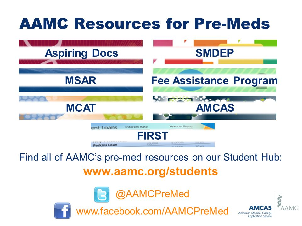 AAMC Resources for Pre-Meds