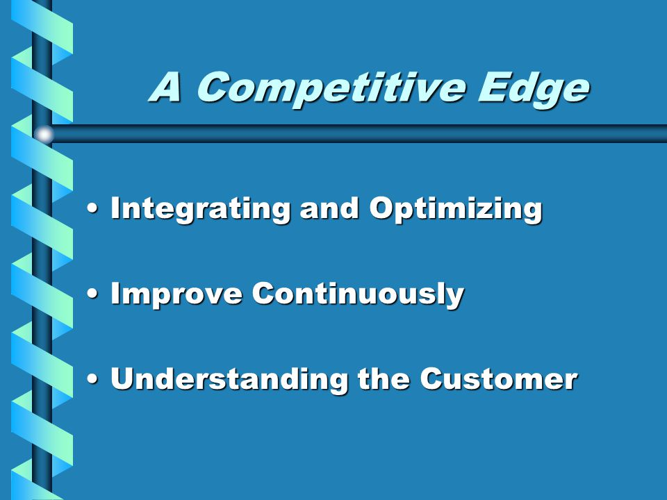 A Competitive Edge Integrating and Optimizing Improve Continuously