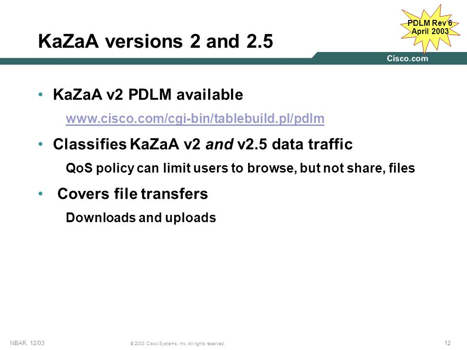 KaZaA versions 2 and 2.5 KaZaA v2 PDLM available