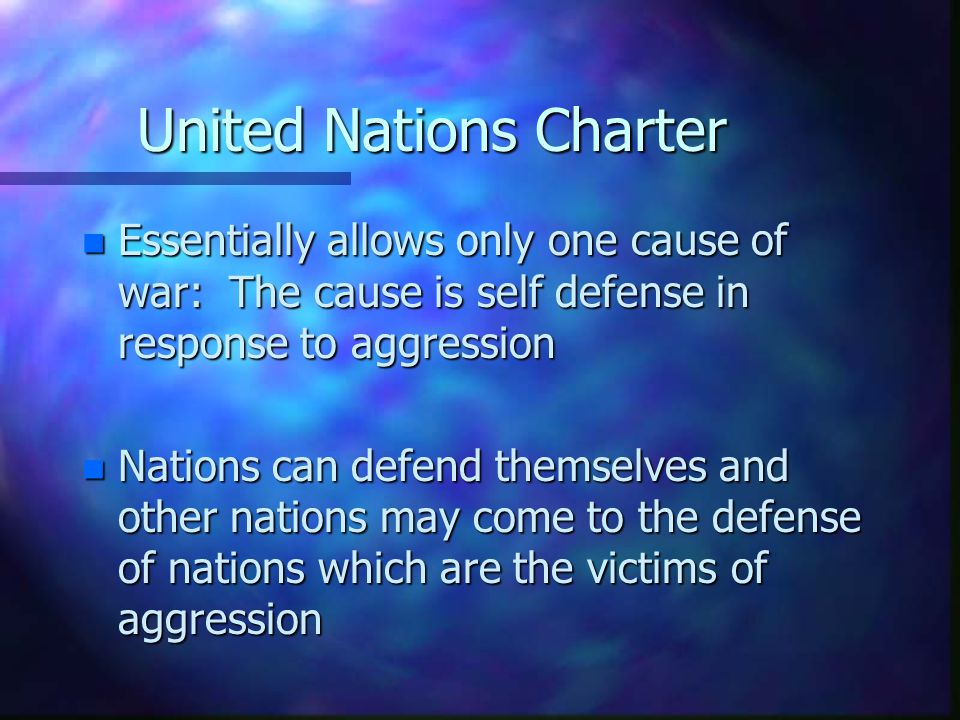 United Nations Charter
