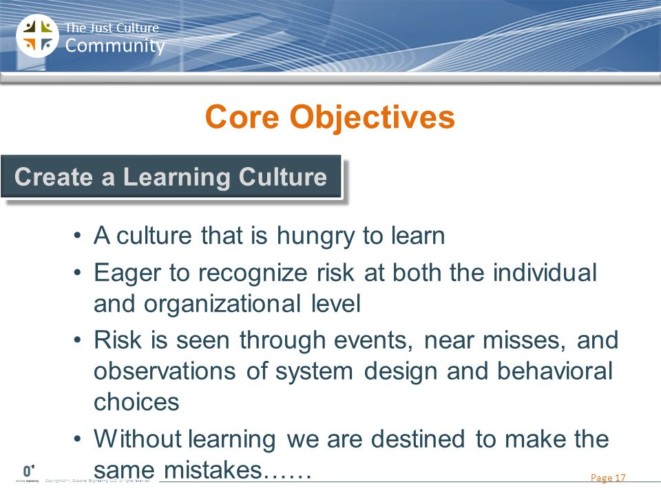 Create a Learning Culture