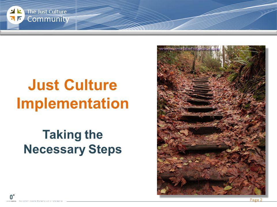 Just Culture Implementation