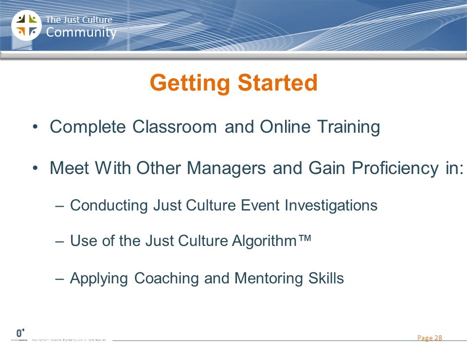 Getting Started Complete Classroom and Online Training