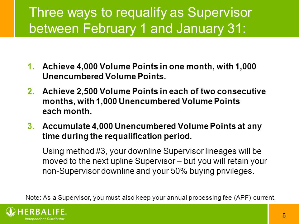 Three ways to requalify as Supervisor between February 1 and January 31: