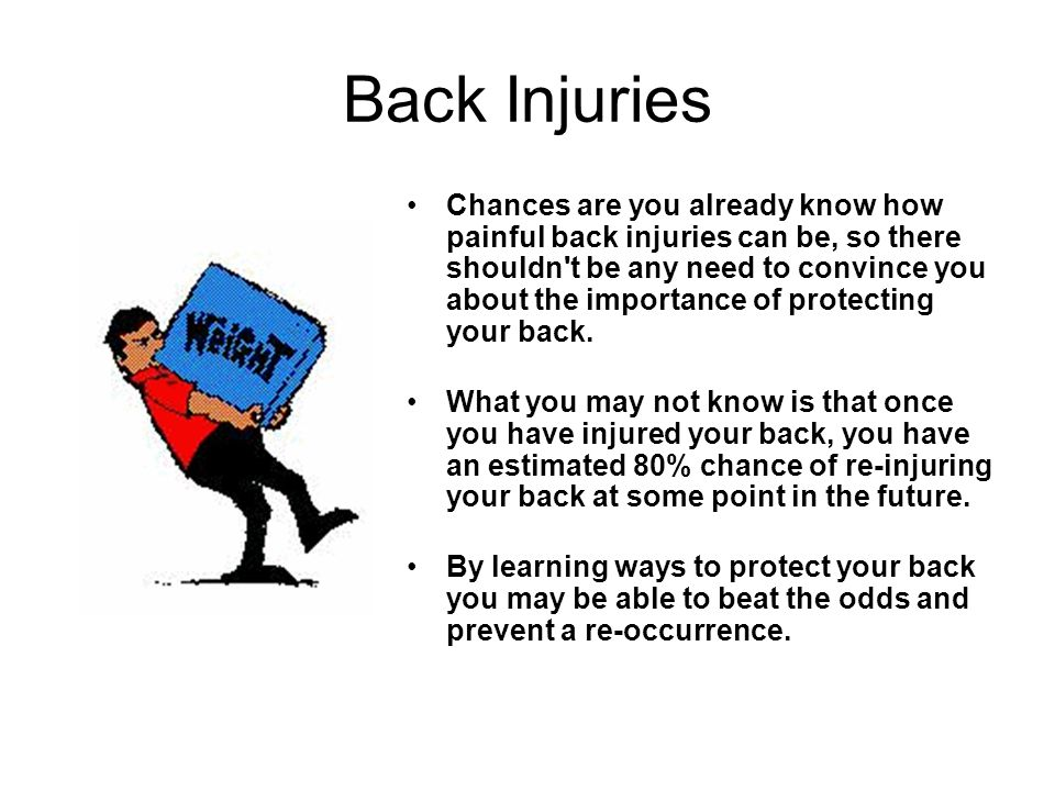 Back Injuries