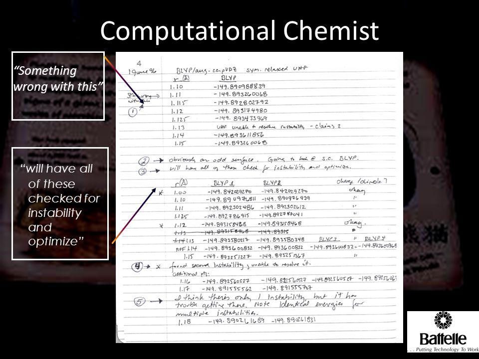 Computational Chemist