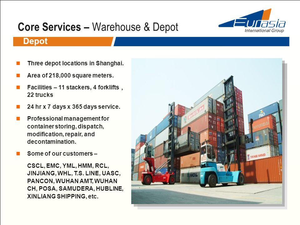 Core Services – Warehouse & Depot