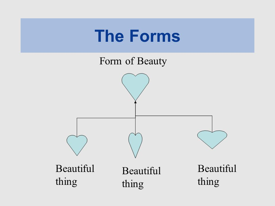 The Forms Form of Beauty Beautiful thing Beautiful thing