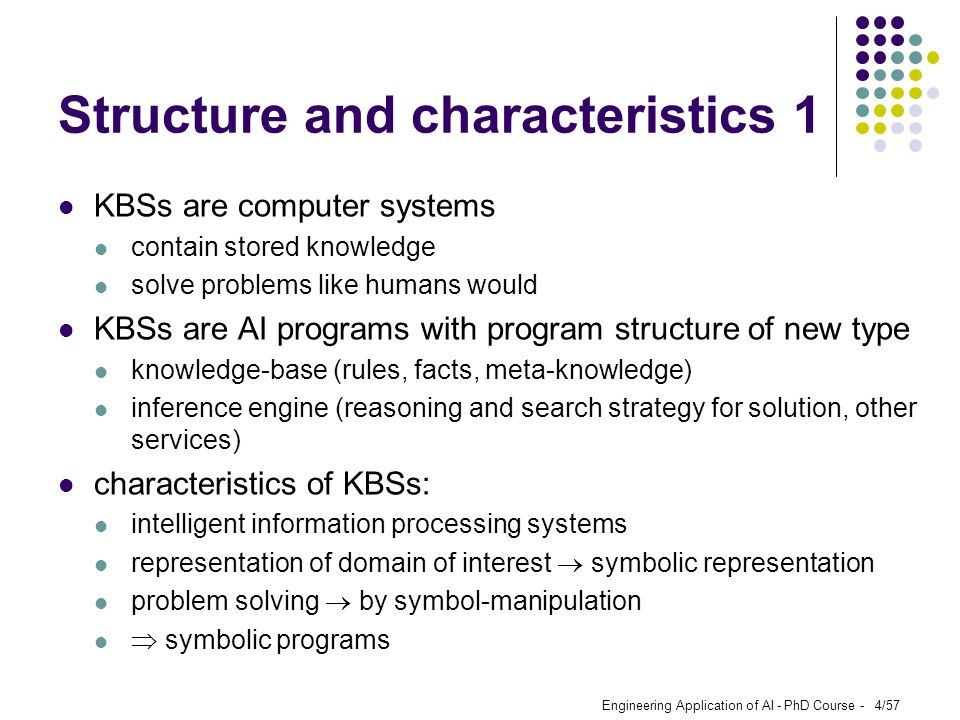 Structure and characteristics 1