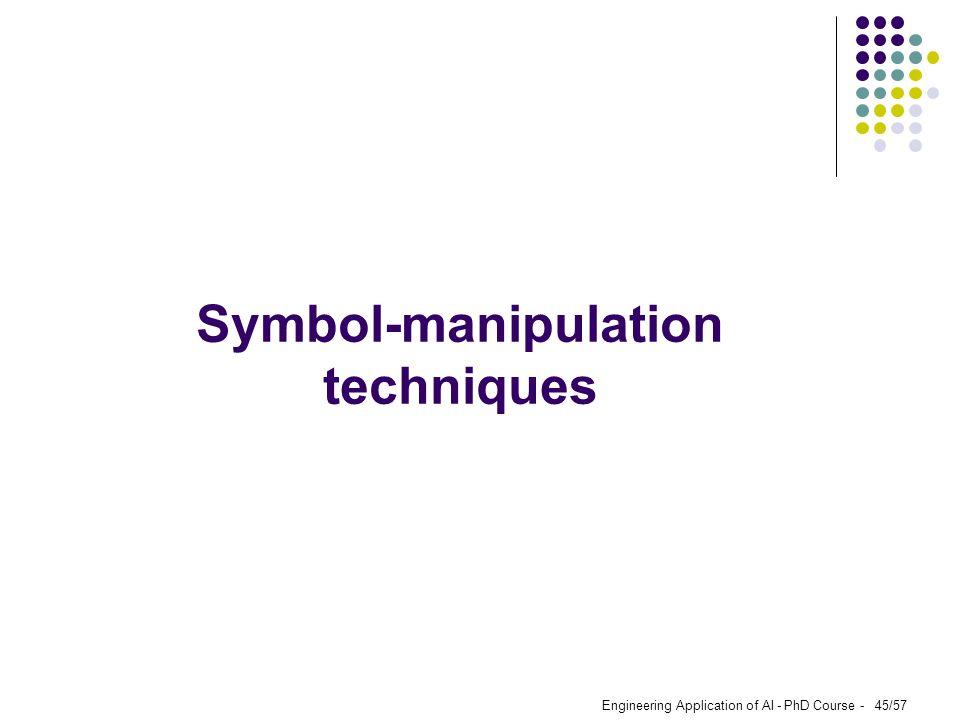 Symbol-manipulation techniques