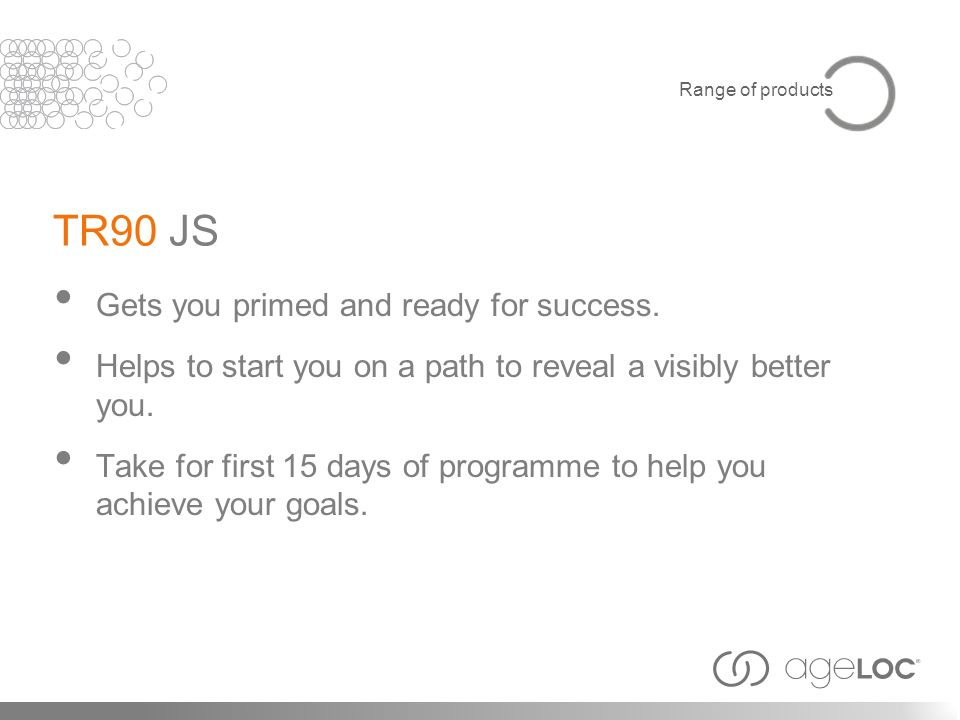 TR90 JS Gets you primed and ready for success.