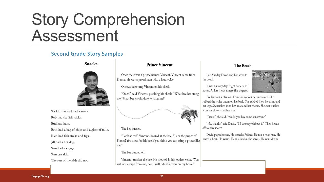 Story Comprehension Assessment