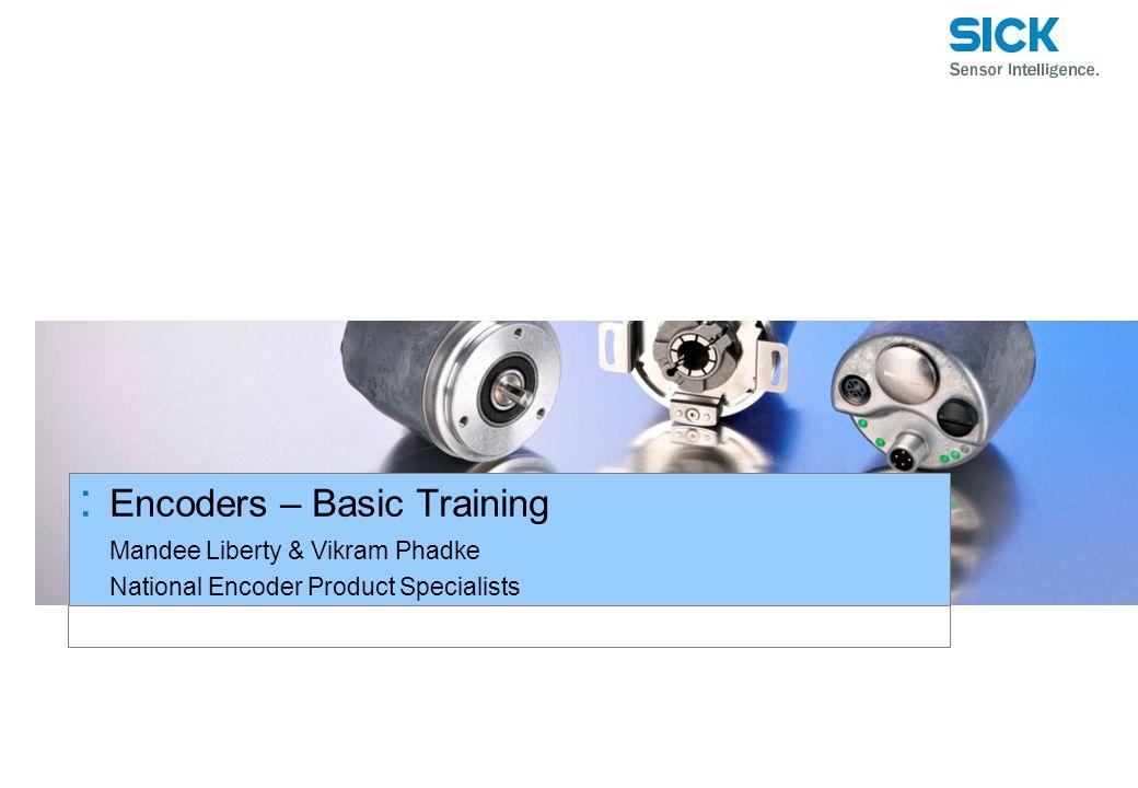 Encoders – Basic Training