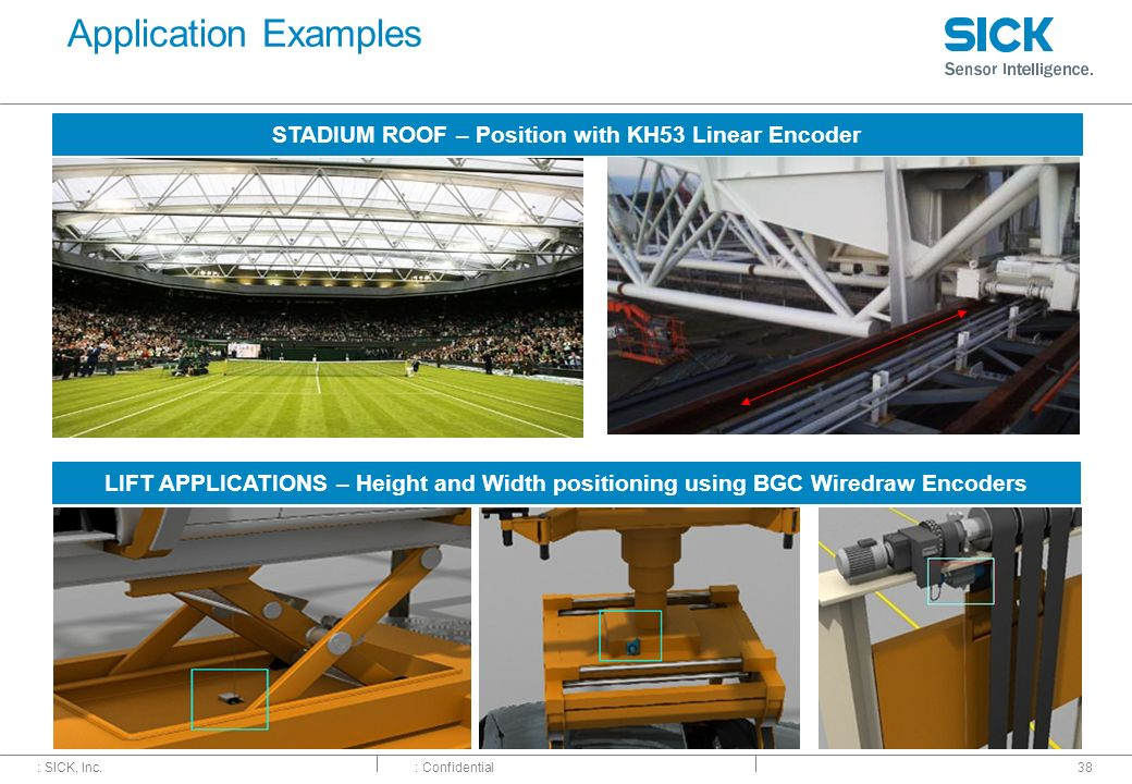 STADIUM ROOF – Position with KH53 Linear Encoder