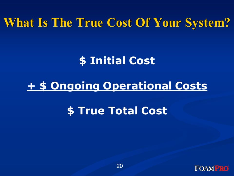What Is The True Cost Of Your System