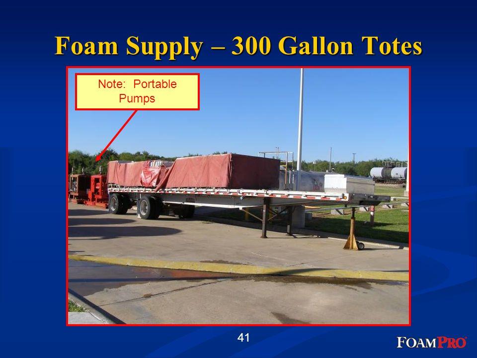 Foam Supply – 300 Gallon Totes