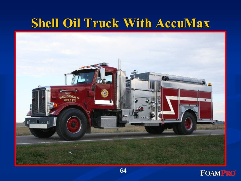 Shell Oil Truck With AccuMax