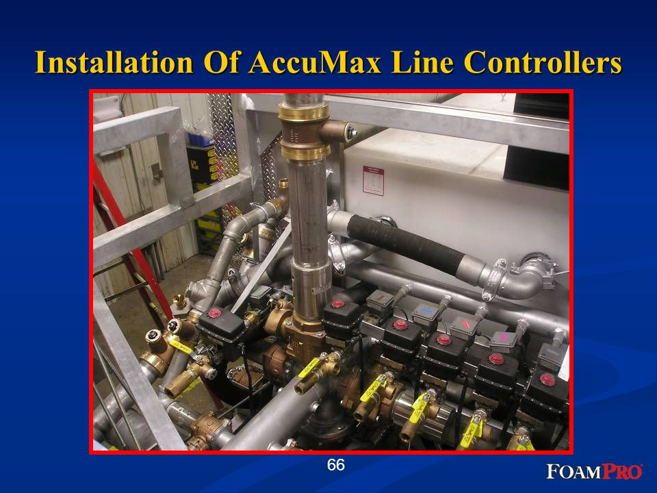 Installation Of AccuMax Line Controllers