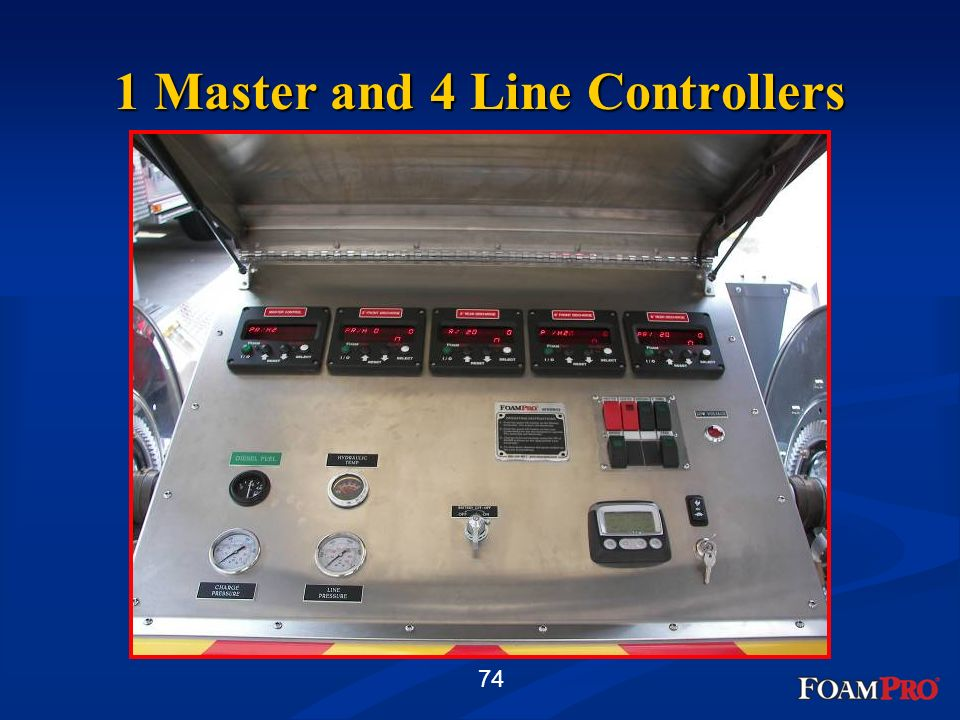 1 Master and 4 Line Controllers