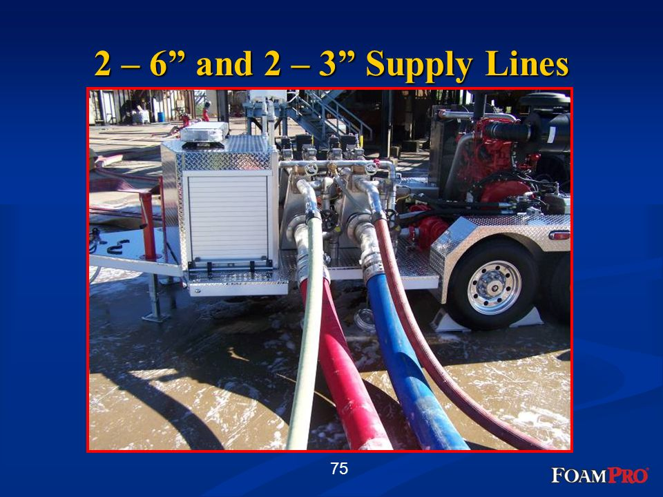 2 – 6 and 2 – 3 Supply Lines