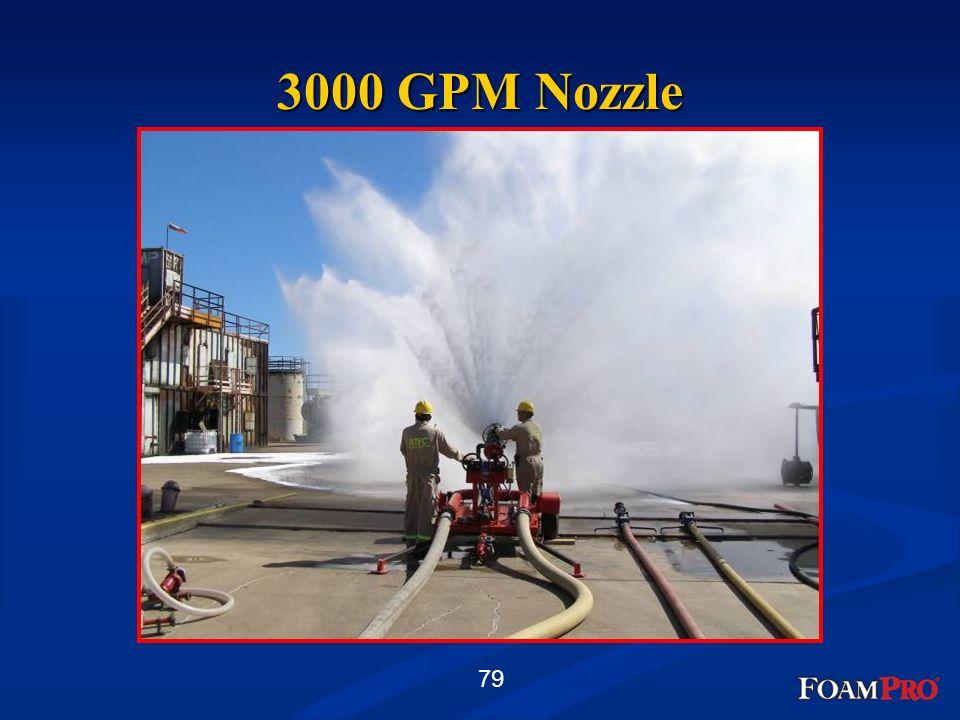 3000 GPM Nozzle