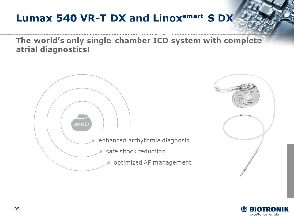 Lumax 540 VR-T DX and Linoxsmart S DX