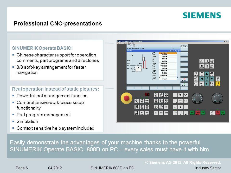 Professional CNC-presentations