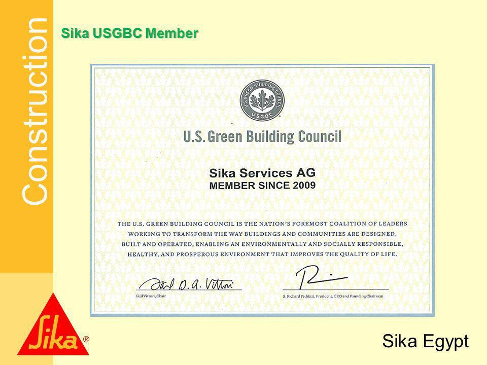 Sika USGBC Member