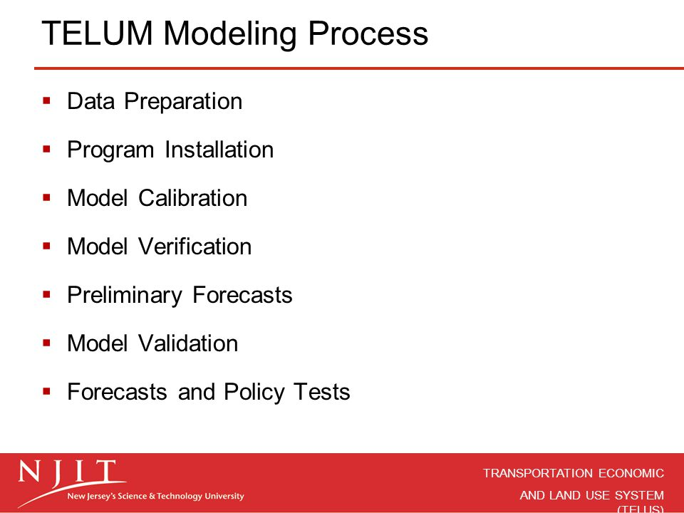 TELUM Modeling Process
