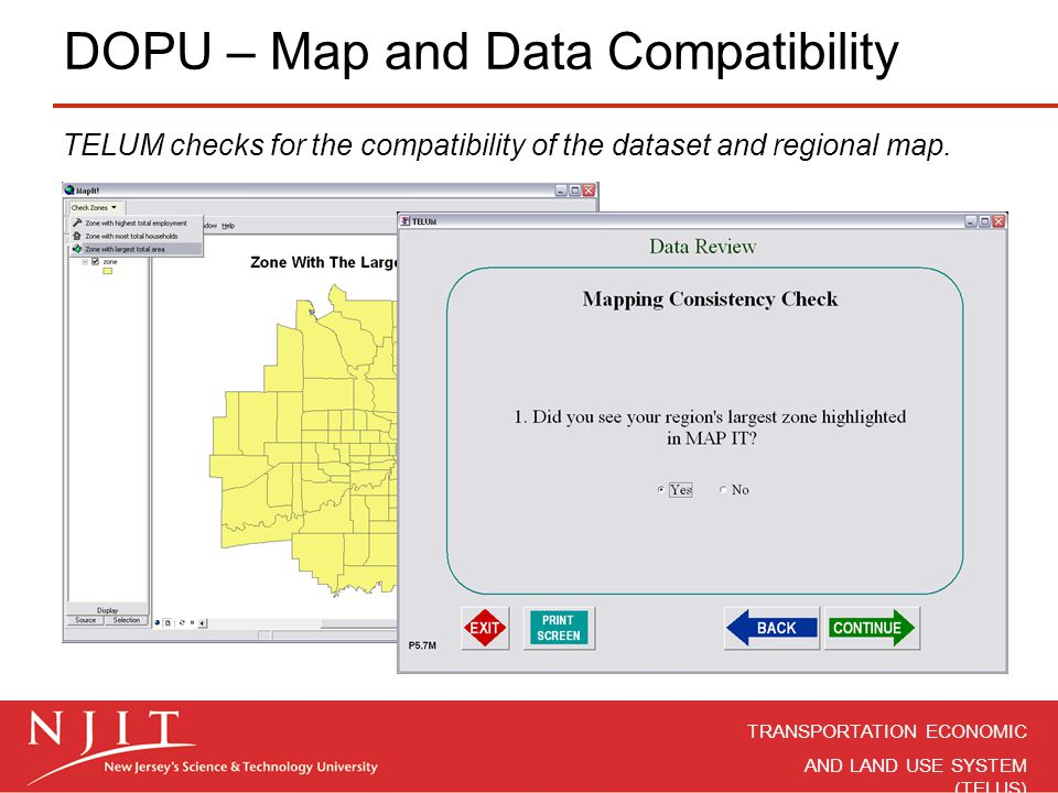 DOPU – Map and Data Compatibility