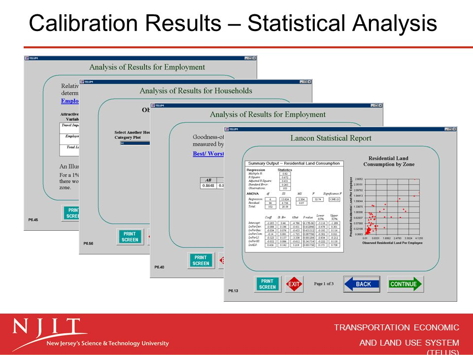 Calibration Results – Statistical Analysis