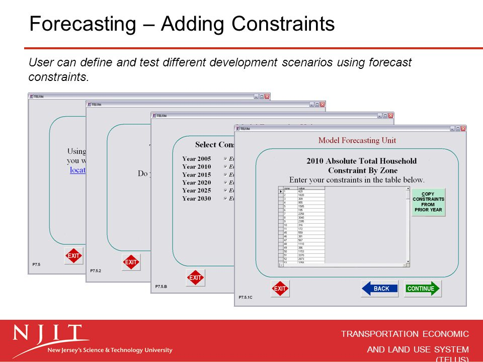 Forecasting – Adding Constraints