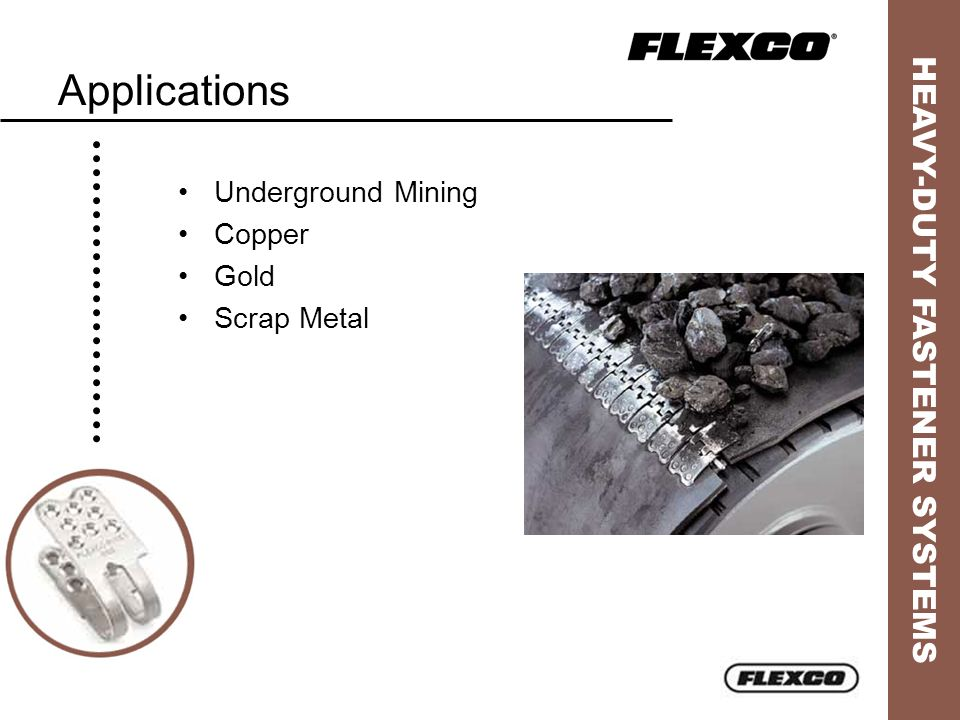 Applications Underground Mining Copper Gold Scrap Metal