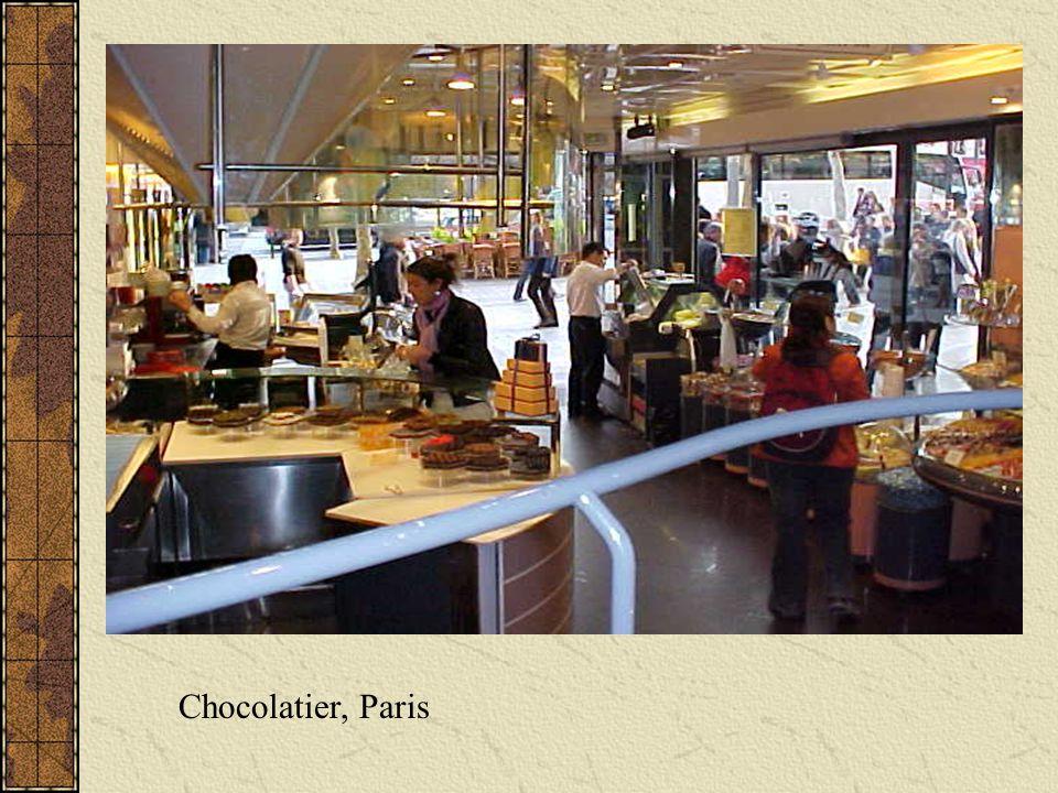 Chocolatier, Paris